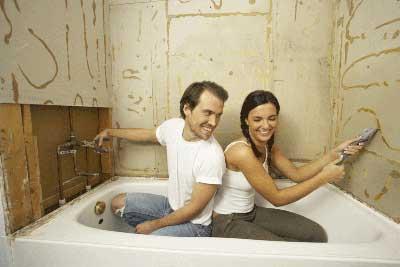 Отделка гипсокартонном ванной – оптимальное решение