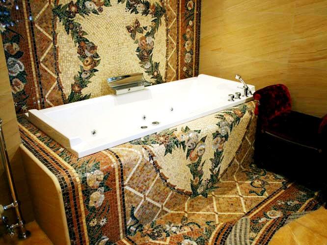 Панно из сердеДеревянные ванны своими руками