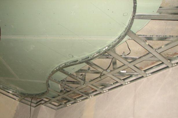 Как самостоятельно устроить подвесной потолок