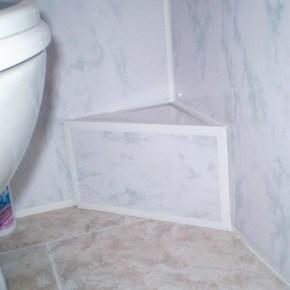 Пластиковые панели для ванной – неплохое решение