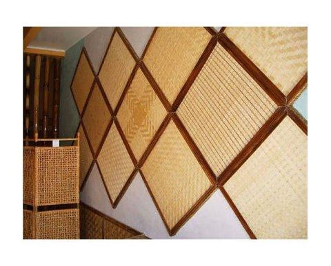 Деревянные панели в качестве декора