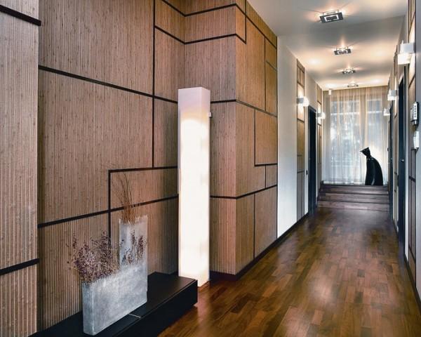 Стеновые панели с бамбуковым шпоном