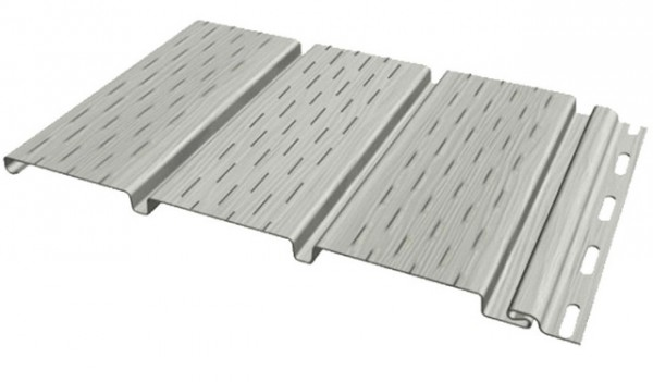 Виниловая панель для подшивки крыш (софит)