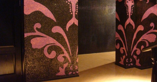 Декоративная  отделка колонн