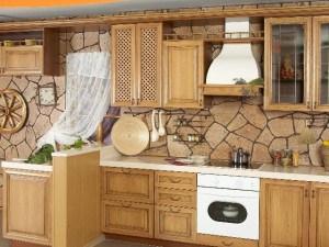 Как отделать кухню, выбор материала