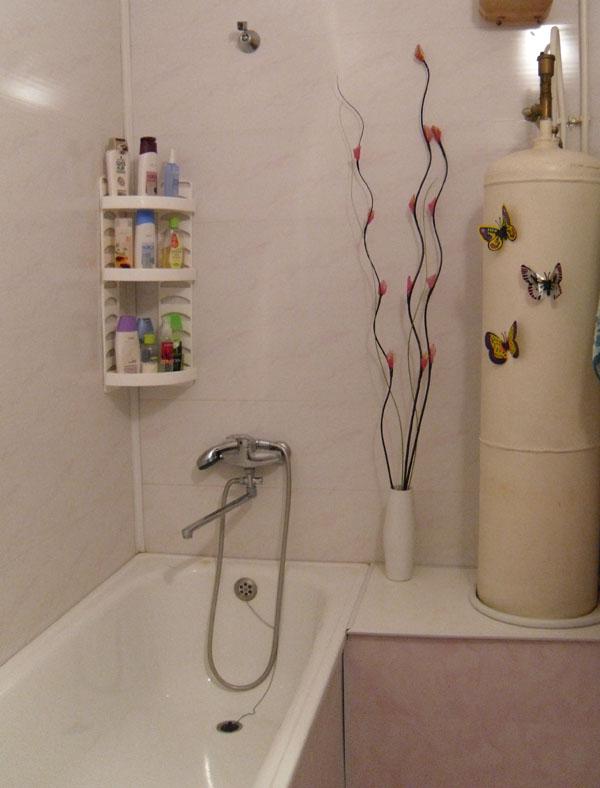 Ванная обшитая пластиком