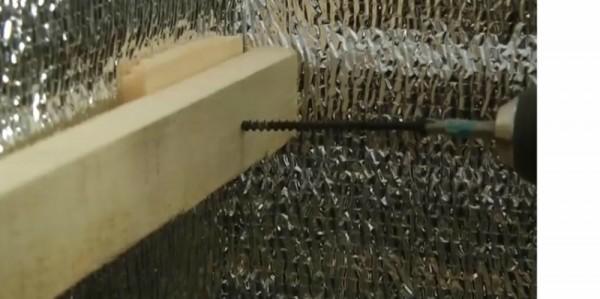 Использование длинных саморезов и подкладок