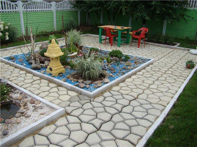 Как сделать дорожку для сада своими руками