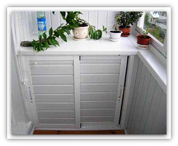Шкафчик, выполненный из пластика