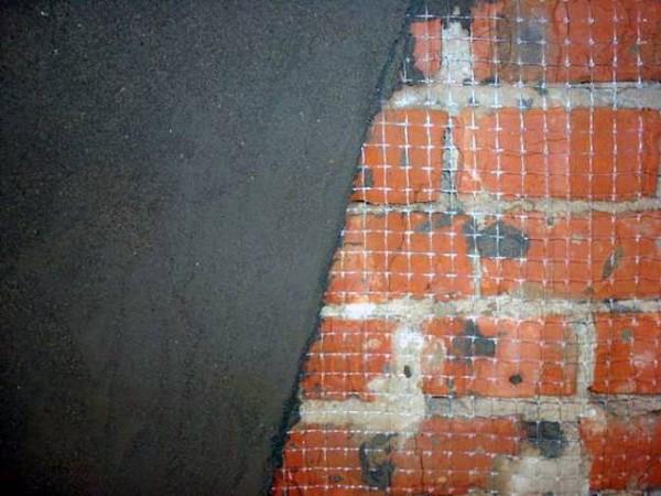 Оштукатуривание печи по сетке
