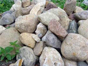 Природный бутовый камень