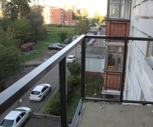 Типовой балкон в хрущёвке