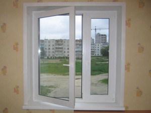 Готовое окно и свежий воздух