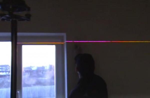 Измерение лазерным уровнем