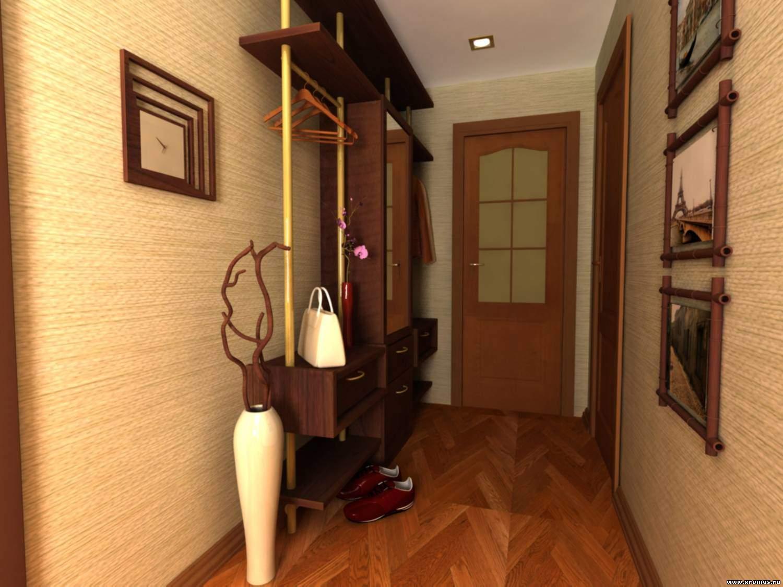 Дизайн стен в прихожей и коридоров