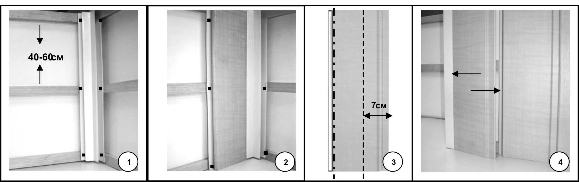 Инструкции монтажа пластиковых панелей