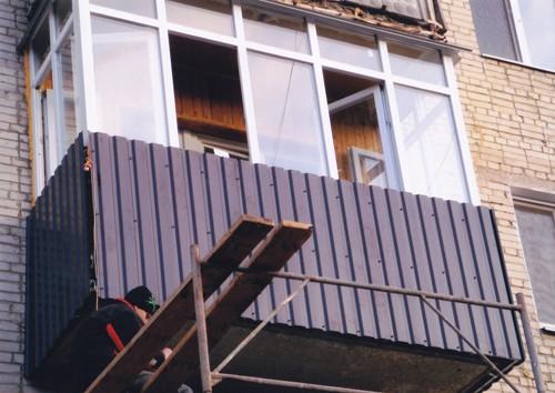 Внешняя отделка балкона: рассмотрим возможные варианты otdel.