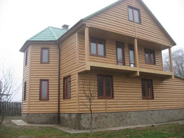 Применение блок хауса в отделке дома