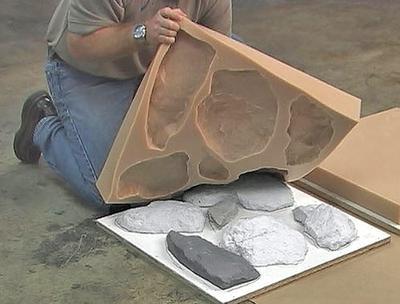 Изготовление искусственного камня
