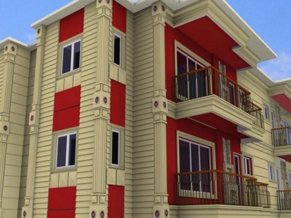 Дизайн фасада с термопанелями