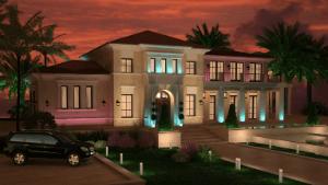 Фасад частного дома или все трудности позади