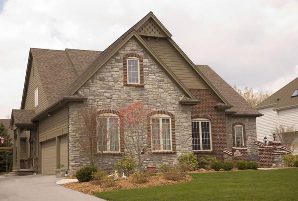 Дом с несколькими фасадами