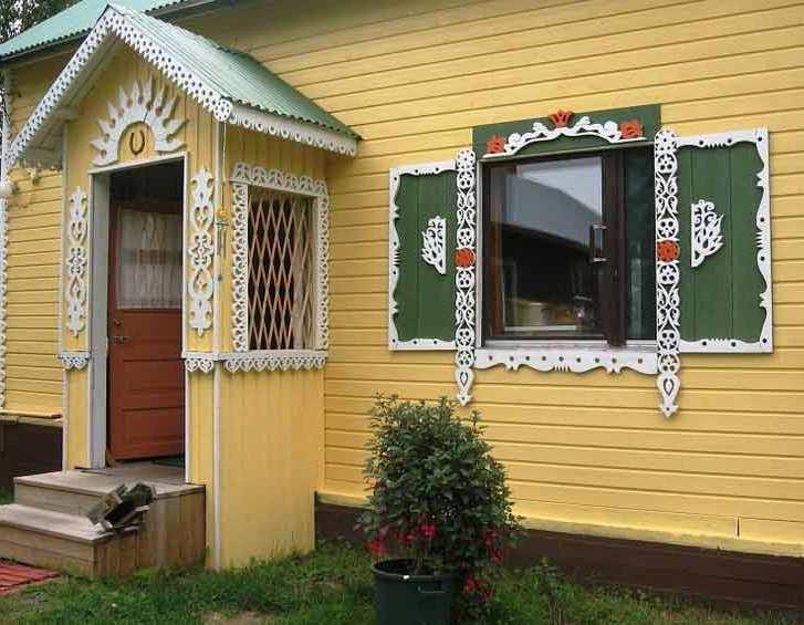 Как украсить фасад дома своими руками 196