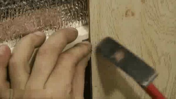 Крепление кляймера к обрешётке