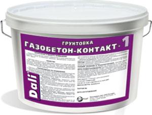 Грунтовой состав для газобетона