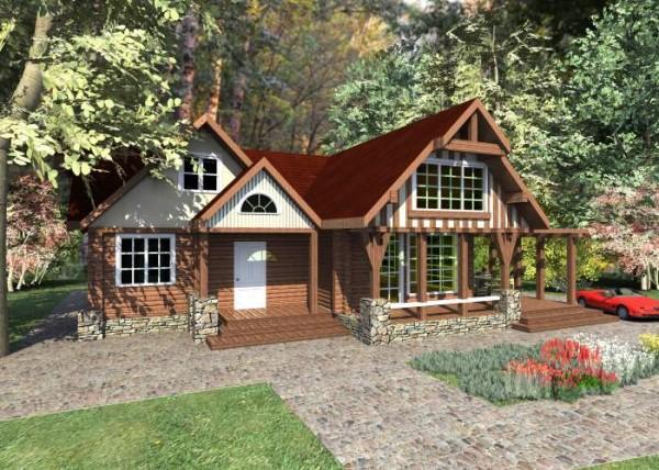 Оформление дома в стиле шале