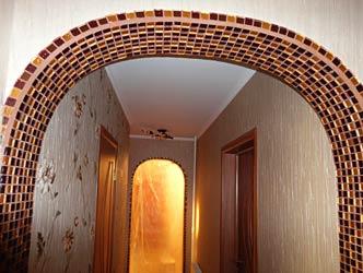 Геометрия прямых и овальных линий в коридоре