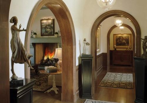 Деревянные арки в интерьере