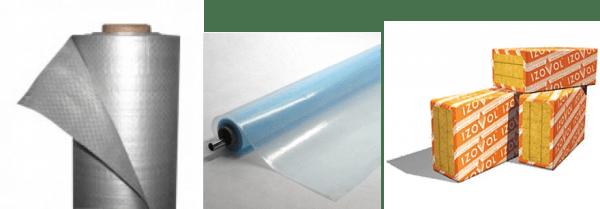 Гидро-, тепло- и пароизоляция