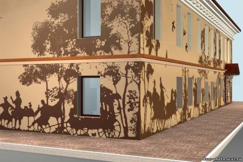 Художественная роспись фасада