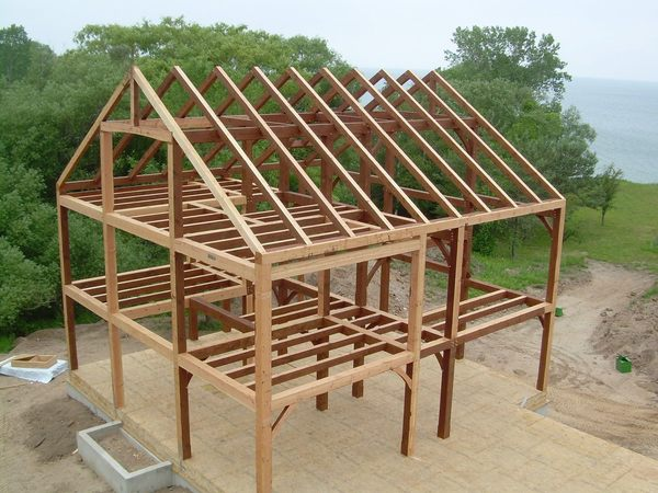 Основа каркасно-стоечного дома
