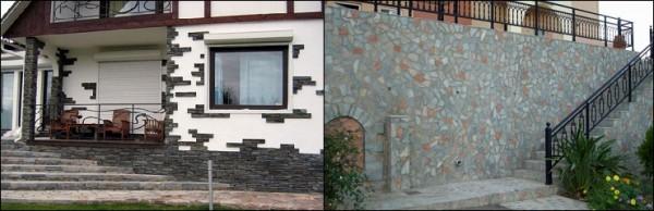 Стена, укрытая мозаикой от непогоды