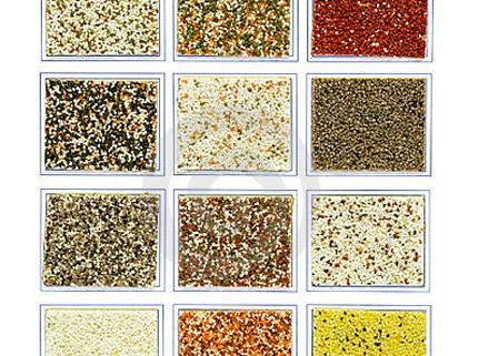 Фактуры минеральной штукатурки