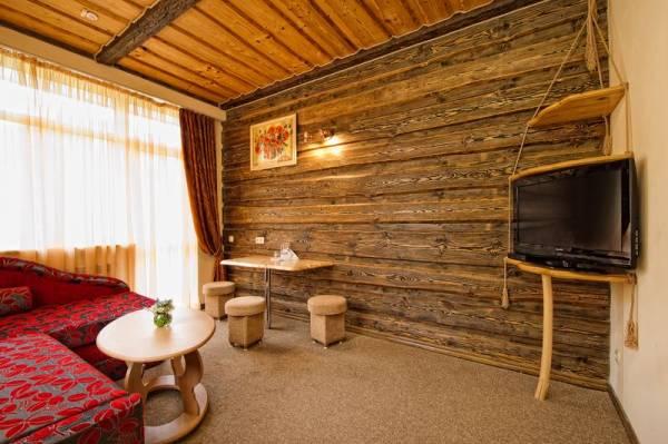 Отделка гостиной в деревенском стиле