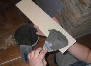 Производим монтаж декоративным камнем