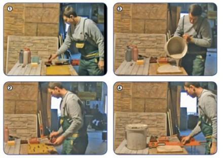 Производство гипсового материала в домашних условиях