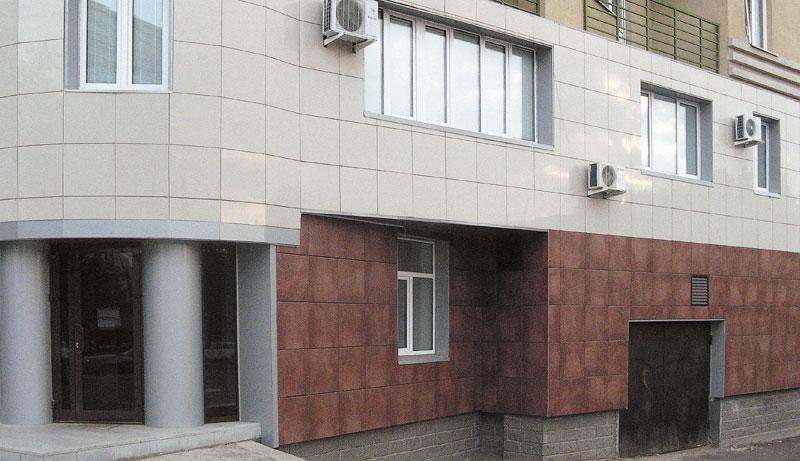 Декоративная штукатурка для отделки фасада
