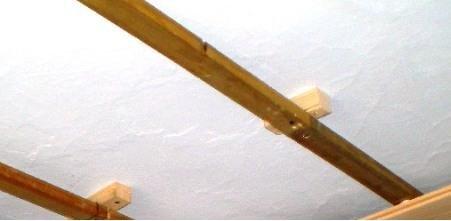 Делаем регулировку высоты при помощи прокладок