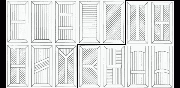 Разнообразные варианты отделки с применением вагонки
