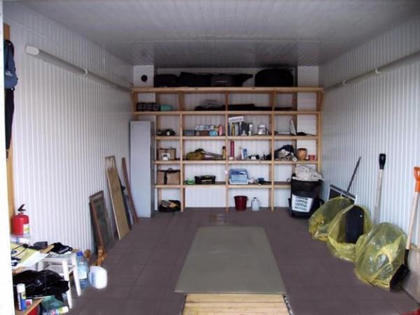 Обустройство гаража внутри идеи