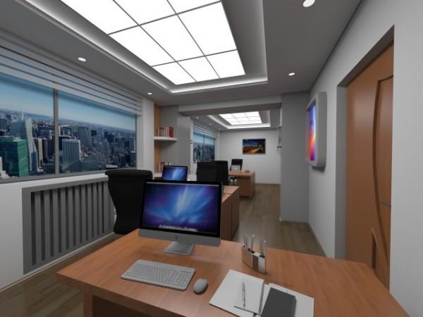 Подвесной стеклянный потолок в подвальном помещении