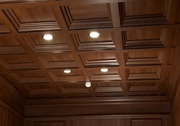 Finition pose lambris pvc plafond devis travaux for Montage lambris pvc plafond
