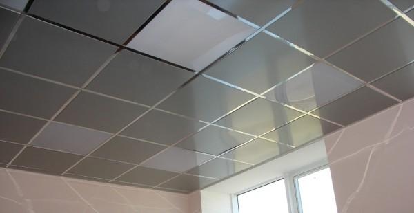 Применение кассетной конструкции в отделке плоскости потолка