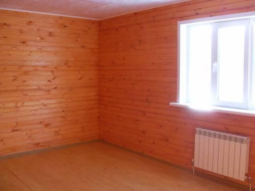 Вагонка в деревянном доме