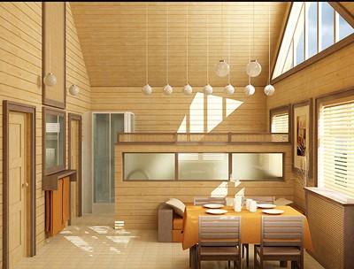 Внутренняя отделка деревянного дома вагонкой