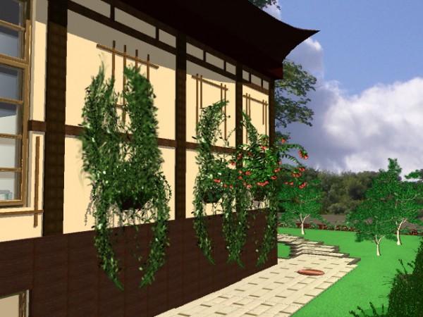 Японский стиль в оформлении дома